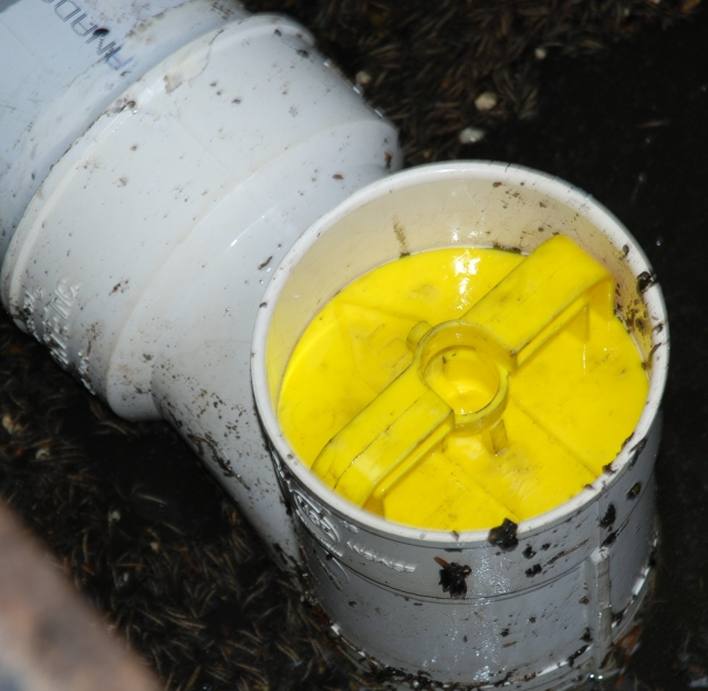Cleaning your effluent filter Cleaning your effluent filter